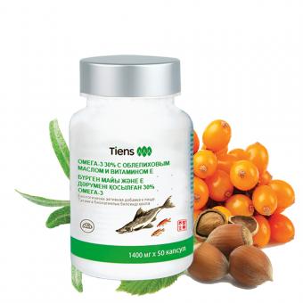 Омега-3 30% с облепиховым маслом и витамином Е